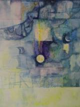 Am Saum der Stille (130 x 100 cm)